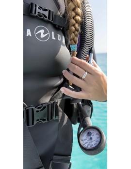 Манометр с термометром Aqua Lung