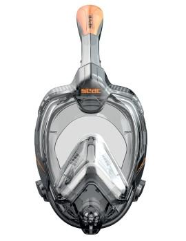 Полнолицевая маска для сноркелинга Seac Libera Black